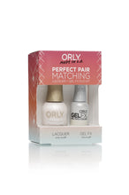 Perfect Pair Lacquer & GELFX - Pink Nude - ORLY Gel + Lacquer Perfect Pairs
