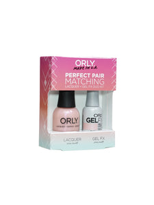 Perfect Pair Lacquer & GELFX - Catch The Bouquet - ORLY Gel + Lacquer Perfect Pairs