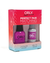 Perfect Pair Lacquer & GELFX - For The First Time - ORLY Gel + Lacquer Perfect Pairs