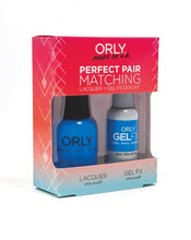 Perfect Pair Lacquer & GELFX - Sea You Soon - ORLY Gel + Lacquer Perfect Pairs