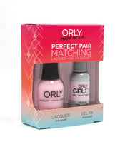 Perfect Pair Lacquer & GELFX - Head In The Clouds - ORLY Gel + Lacquer Perfect Pairs