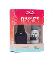 Perfect Pair Lacquer & GELFX - In The Navy - ORLY Gel + Lacquer Perfect Pairs