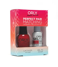 Perfect Pair Lacquer & GELFX - Crawford's Wine - ORLY Gel + Lacquer Perfect Pairs