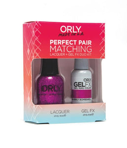 Perfect Pair Lacquer & GELFX - Bubbly Bombshell - ORLY Gel + Lacquer Perfect Pairs