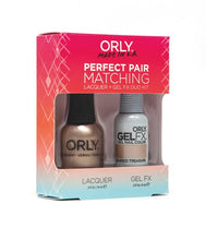 Perfect Pair Lacquer & GELFX - Buried Treasure - ORLY Gel + Lacquer Perfect Pairs