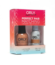 Perfect Pair Lacquer & GELFX - Sand Castle - ORLY Gel + Lacquer Perfect Pairs