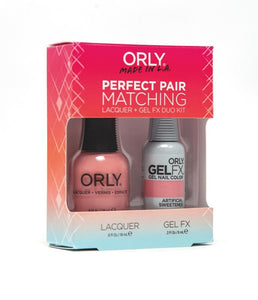 Perfect Pair Lacquer & GELFX - Artificial Sweetener - ORLY Gel + Lacquer Perfect Pairs