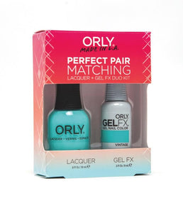 Perfect Pair Lacquer & GELFX - Under The Stars - ORLY Gel + Lacquer Perfect Pairs