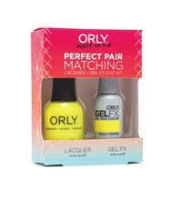 Perfect Pair Lacquer & GELFX - Road Trippin - ORLY Gel + Lacquer Perfect Pairs