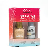 Perfect Pair Lacquer & GELFX - Sheer Nude - ORLY Gel + Lacquer Perfect Pairs
