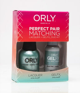 Perfect Pair Lacquer & GELFX - Electric Jungle - ORLY Gel + Lacquer Perfect Pairs