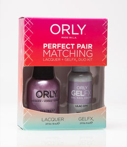 Perfect Pair Lacquer & Gel Nail Color - Lilac City