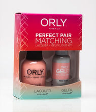 Perfect Pair Lacquer & GELFX - Pink Noise - ORLY Gel + Lacquer Perfect Pairs