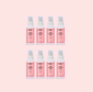 8 pc Hand Sanitizer Spray 2oz Bundle