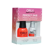 Perfect Pair Lacquer & Gel Nail Color - Hot Shot