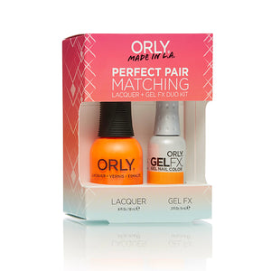 Perfect Pair Lacquer & Gel Nail Color - Melt Your Popsicle