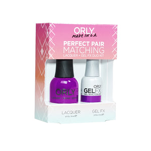Perfect Pair Lacquer & Gel Nail Color - Purple Crush