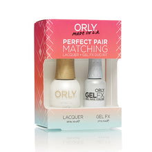 Perfect Pair Lacquer & Gel Nail Color - White Tips