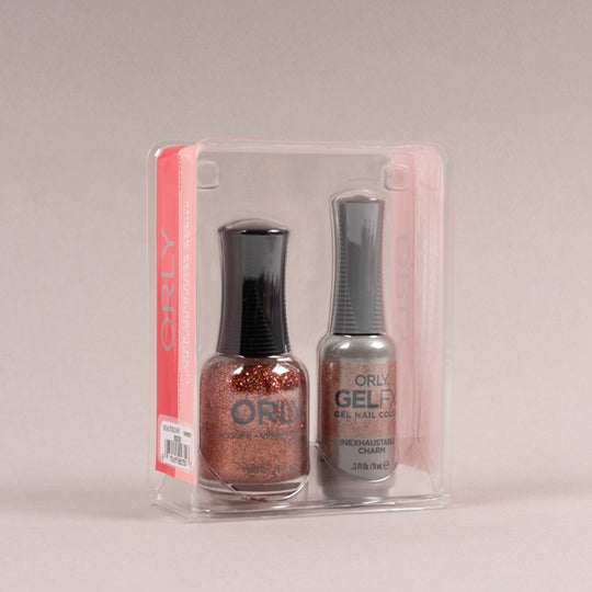Perfect Pair Lacquer + Gels: Inexhaustible Charm