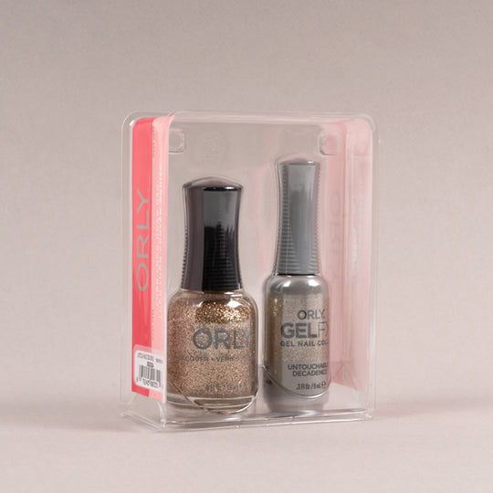 Perfect Pair Lacquer + Gels: Untouchable Decadence