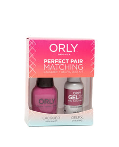 Perfect Pair Lacquer & GELFX - Mystic Maven - ORLY Gel + Lacquer Perfect Pairs