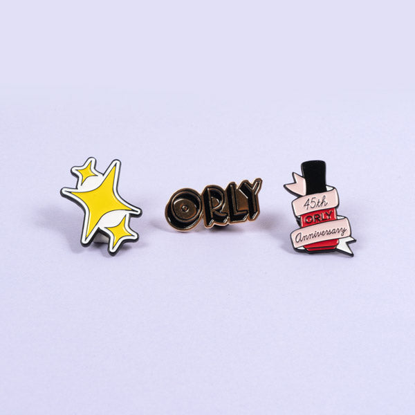 ORLY 45th Anniversary Pin Pack