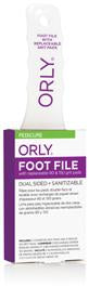 FOOT FILE W/2 REFILL PADS OF EA GRIT LEVEL - ORLY Files