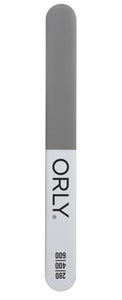 Buffing Trio - Fine 400 Grit / Ultra Fine 600 Grit / Buffer (74pc Canister) - ORLY Files