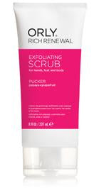 RICH RENEWAL PUCKER - SCRUB - ORLY Scrubs & Exfoliators