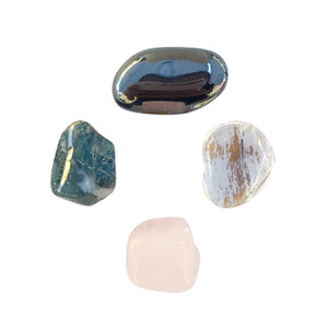 Boost to Self-Confidence * 4 Piece Stone Set *
