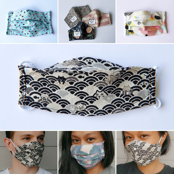 Fitted, Pleated, Origami - Handmade Face Mask Comparison