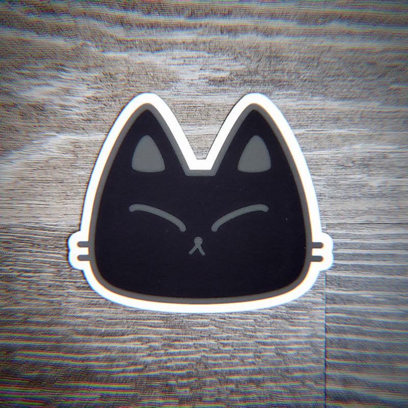 Dark Kitty Fury - Vinyl Sticker