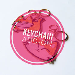 Custom Keychain Addition - PlatterCats Creative