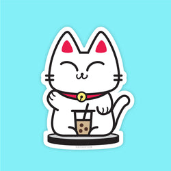 Boba Kitty - Vinyl Sticker