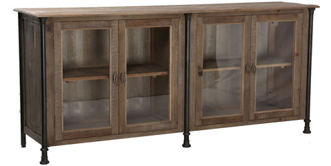 Everett 4-Door Cabinet Storage