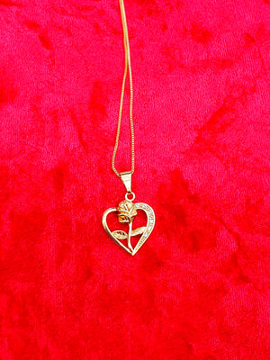 Rose Corazon Necklace