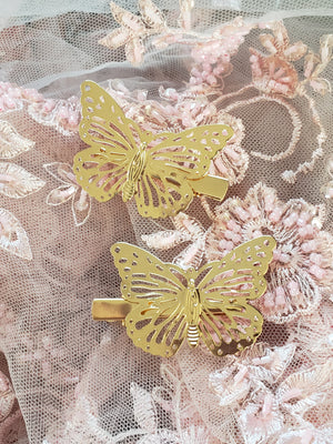 Fairy Butterfly Clips