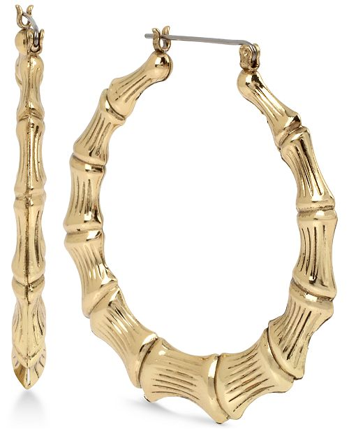 Statement Bamboo Hoops
