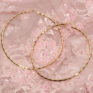 Sparkly Big Hoops