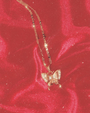 Mimi Butterfly Necklace