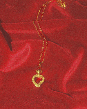Mini Sacred Heart Necklace