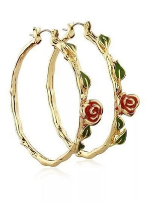 Rose Thorn Hoops