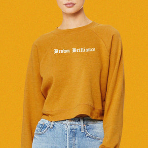 Brown Brilliance Sweatshirt