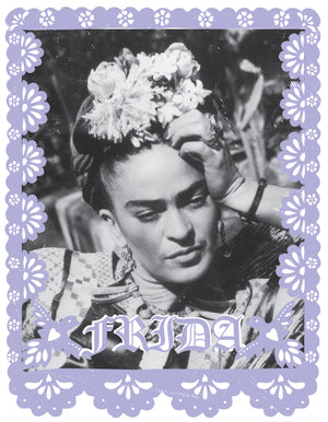 Frida Papel Picado Print