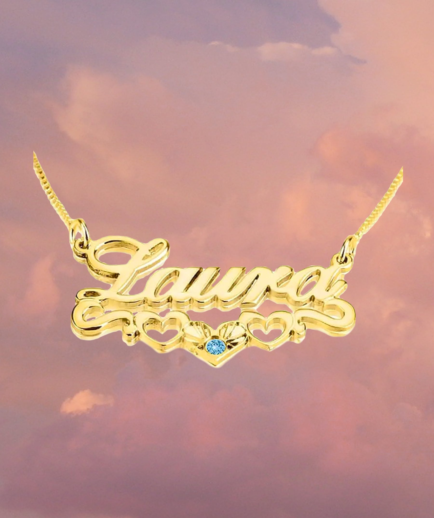 Muñeca Nameplate Necklace