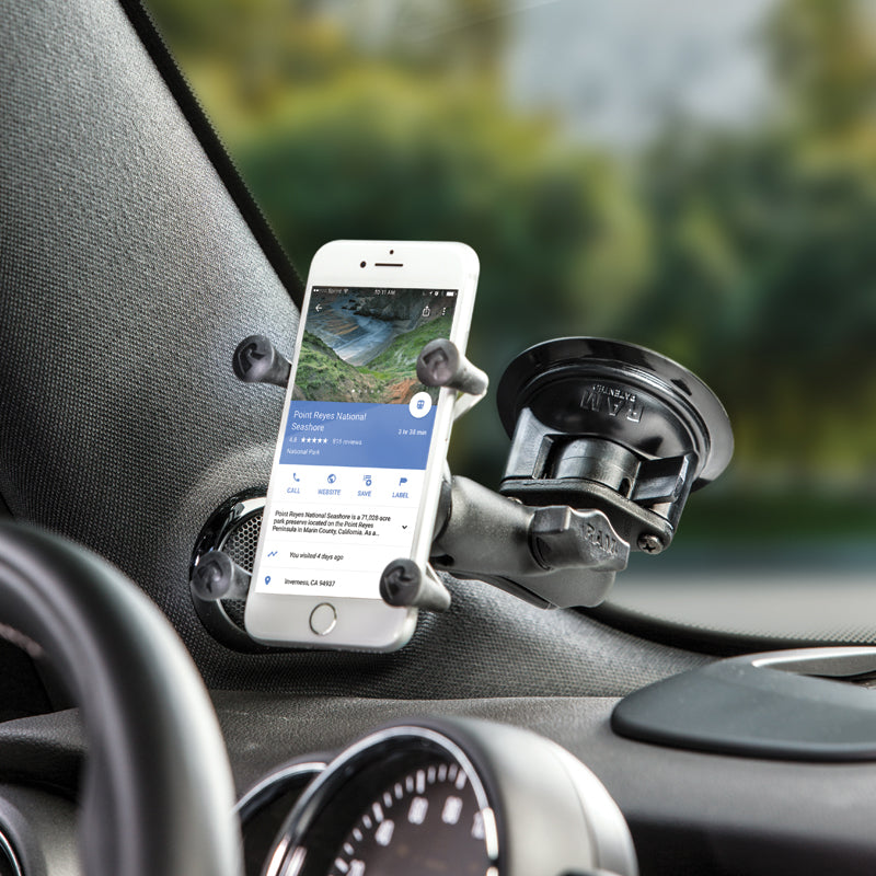 How to Mount Your Device Using RAM Suction Cup Mount