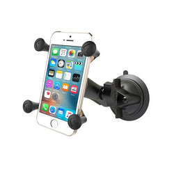 RAM Twist-Lock™ Suction Cup Mount with Universal RAM® X-Grip® Cell/iPhone Cradle (RAM-B-166-UN7U)