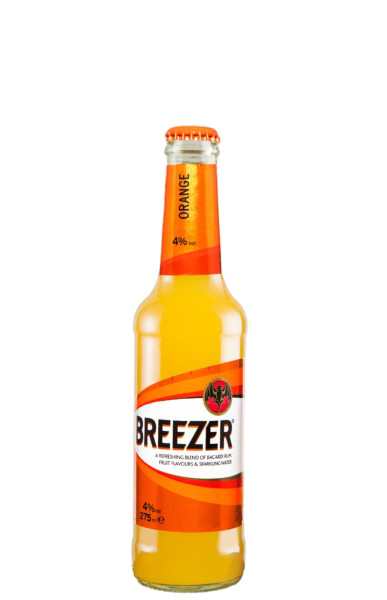 12 x 275ml Bacardi Breezer Orange