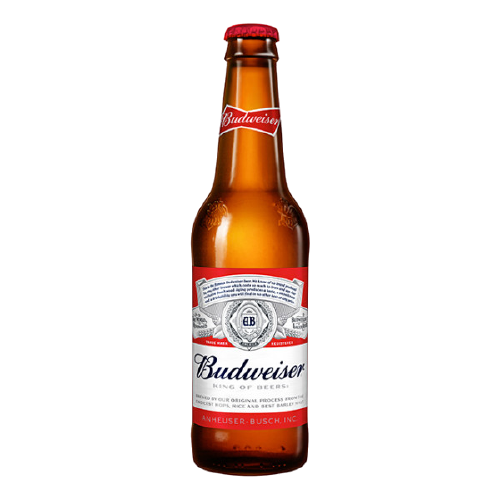 12 x 355ml Budweiser Beer Pint