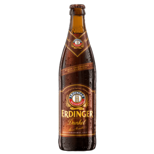 12 x 500ml Erdinger Dunkel Beer Bottle Case
